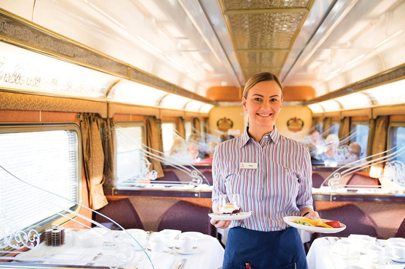 Great Southern Rail, Gold Service Queen Adelaide Restaurant