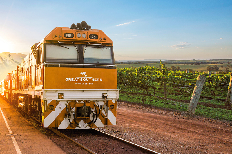 Great Southern travelling between Adelaide and Brisbane