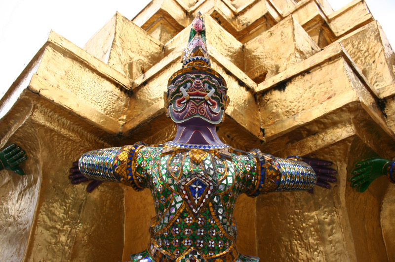 A Garuda at The Grand Palace