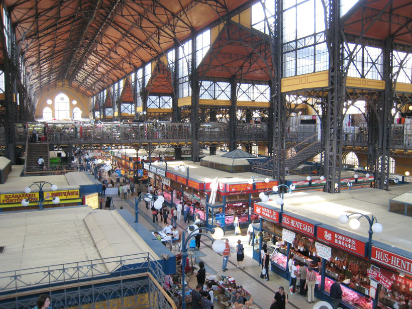 Travel Associates budapest market hall interior