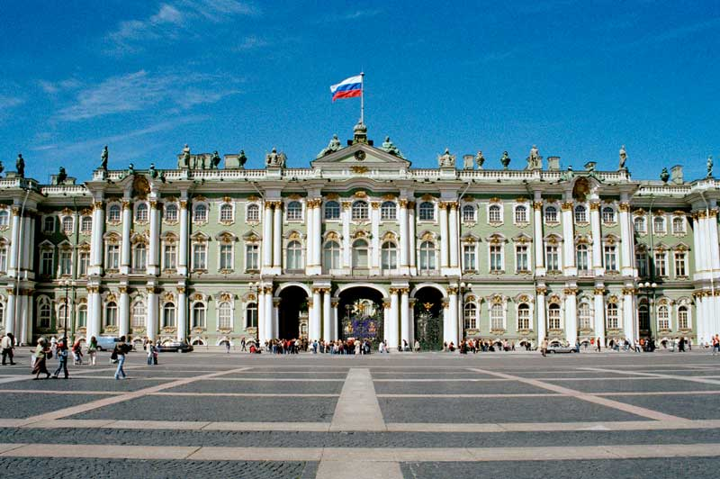 Winter Palace of the Hermitage Museum, St. Petersburg, Russia
