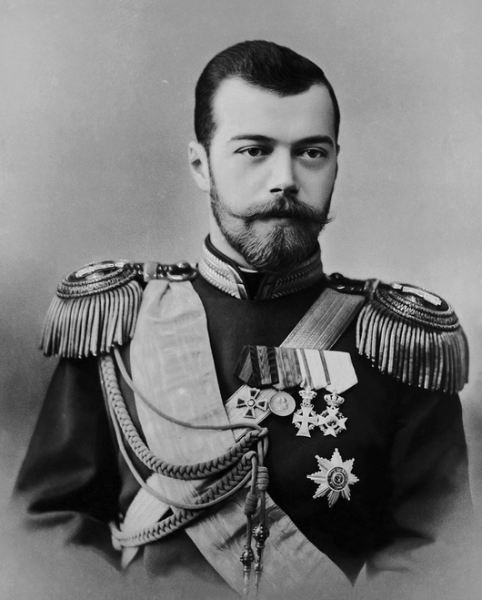 Tsar Nicholas II, the founding father of Kors Vodka