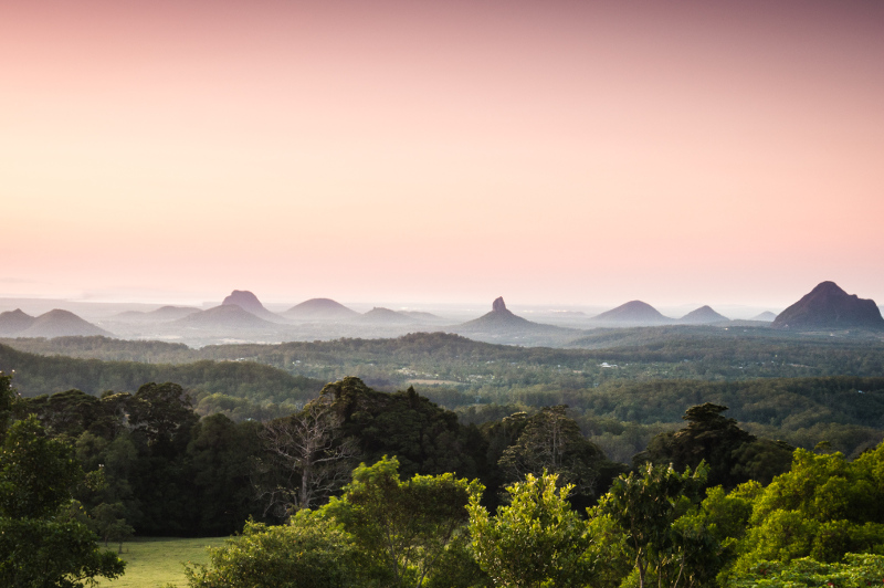 Glass House Mountains Queensland