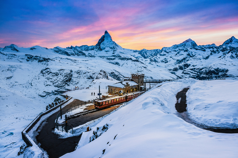 Gornergrat Switzerland Swiss Alps