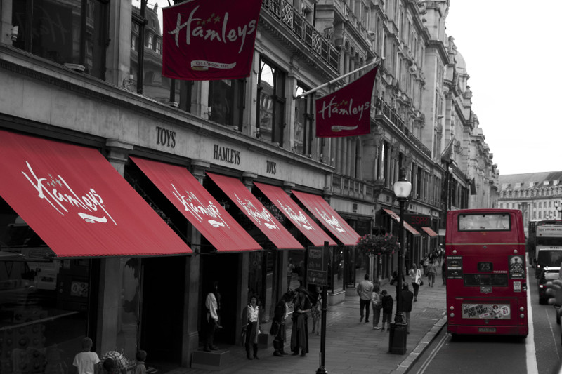 Hamleys Shoppping London