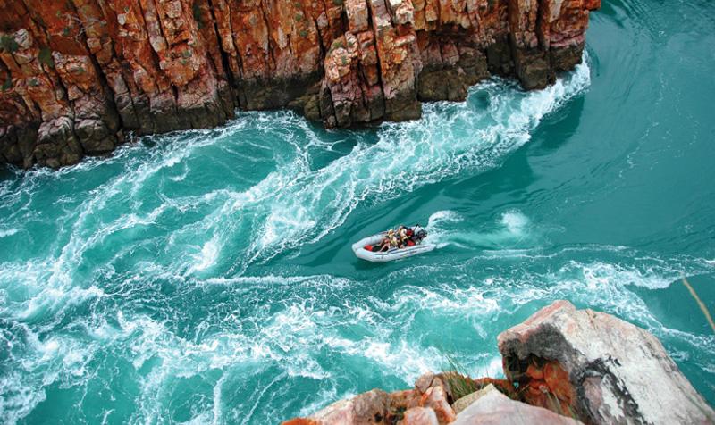 The Kimberley's Horizontal Falls