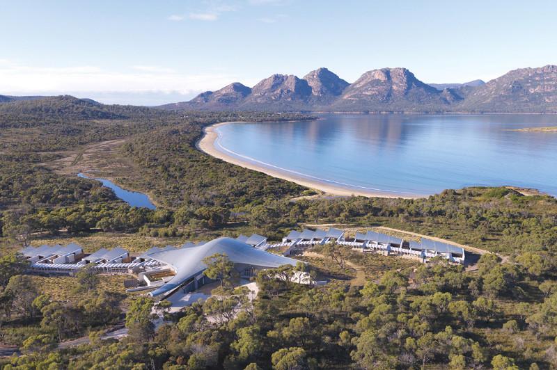 Saffire Freycinet luxury Australian hotel