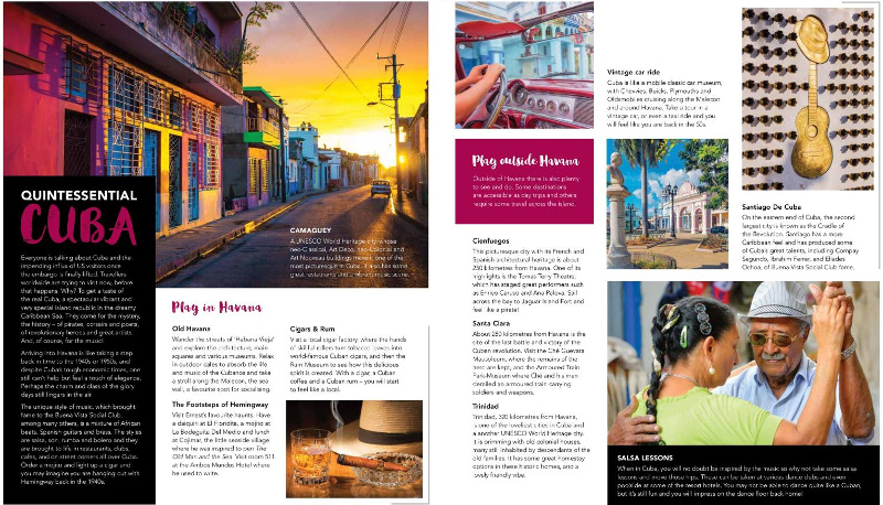 Inspirations Travel Magazine Cuba