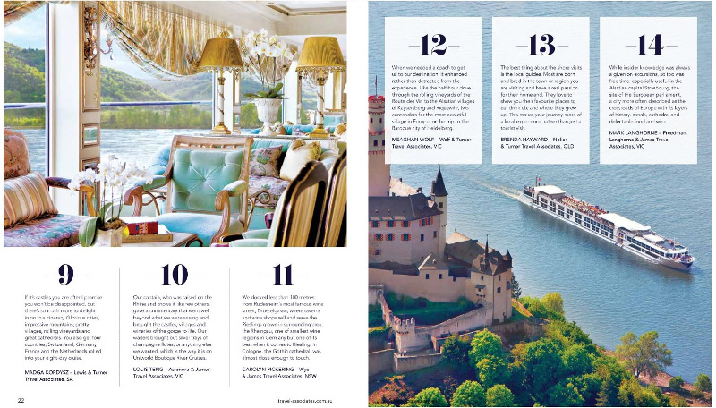 Inspirations Travel Magazine Luxury Cruise