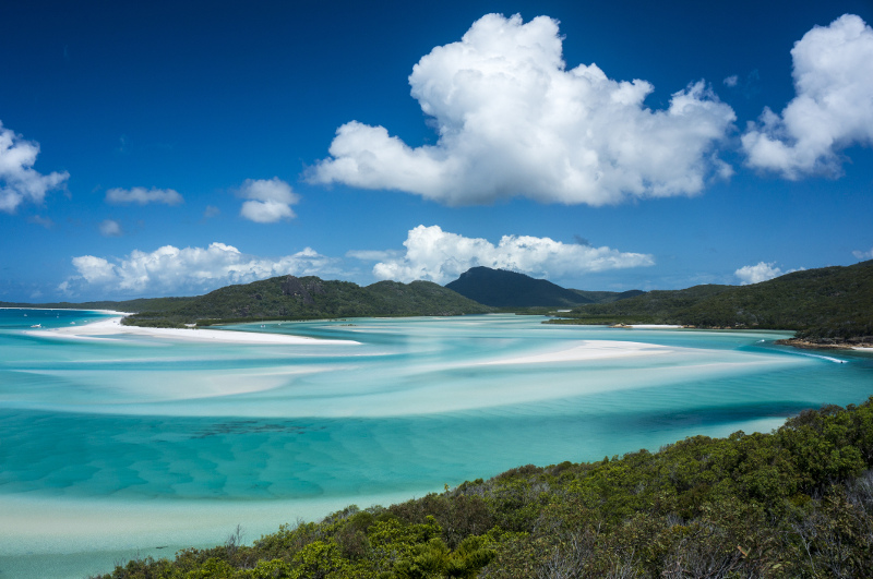 Hill Inlet Whitsunday Islands