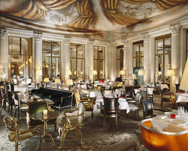 Le Dali Restaurant at Le Meurice, Paris