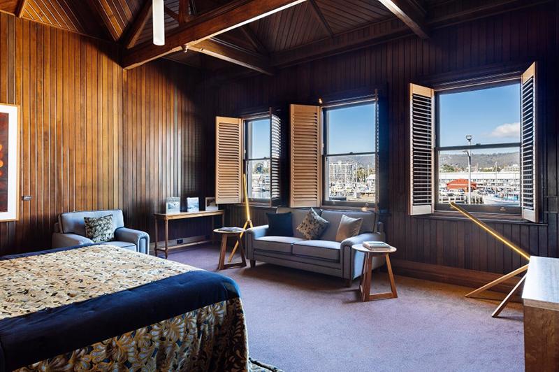 The H Jones Suite, Henry Jones Art Hotel, Hobart