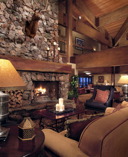 Main Lodge Fireside Stein Eriksen Utah