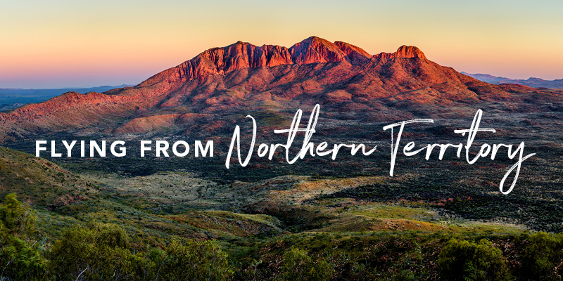 Flying from the Northern Territory