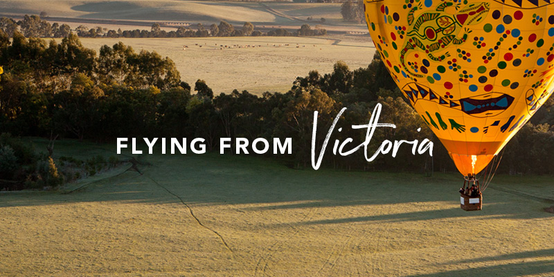 Flying from Victoria