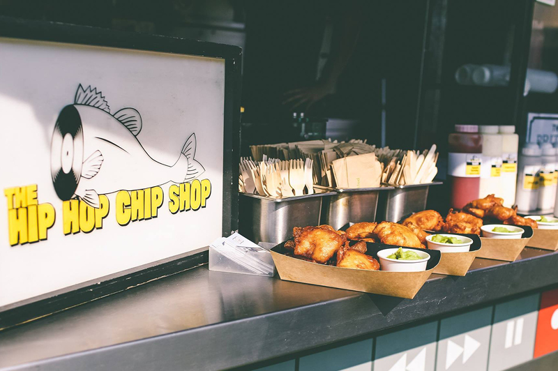 The Hip Hop Chip Shop, Manchester (image courtesy of The Hip Hop Chip Shop)