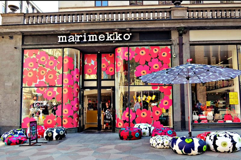 Marimekko remains one of the best-known, iconic Finnish design brands