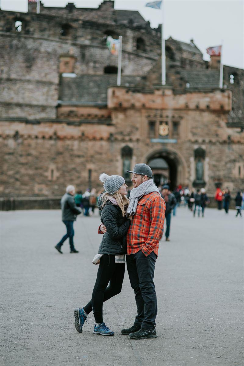 Honeymooning in Edinburgh