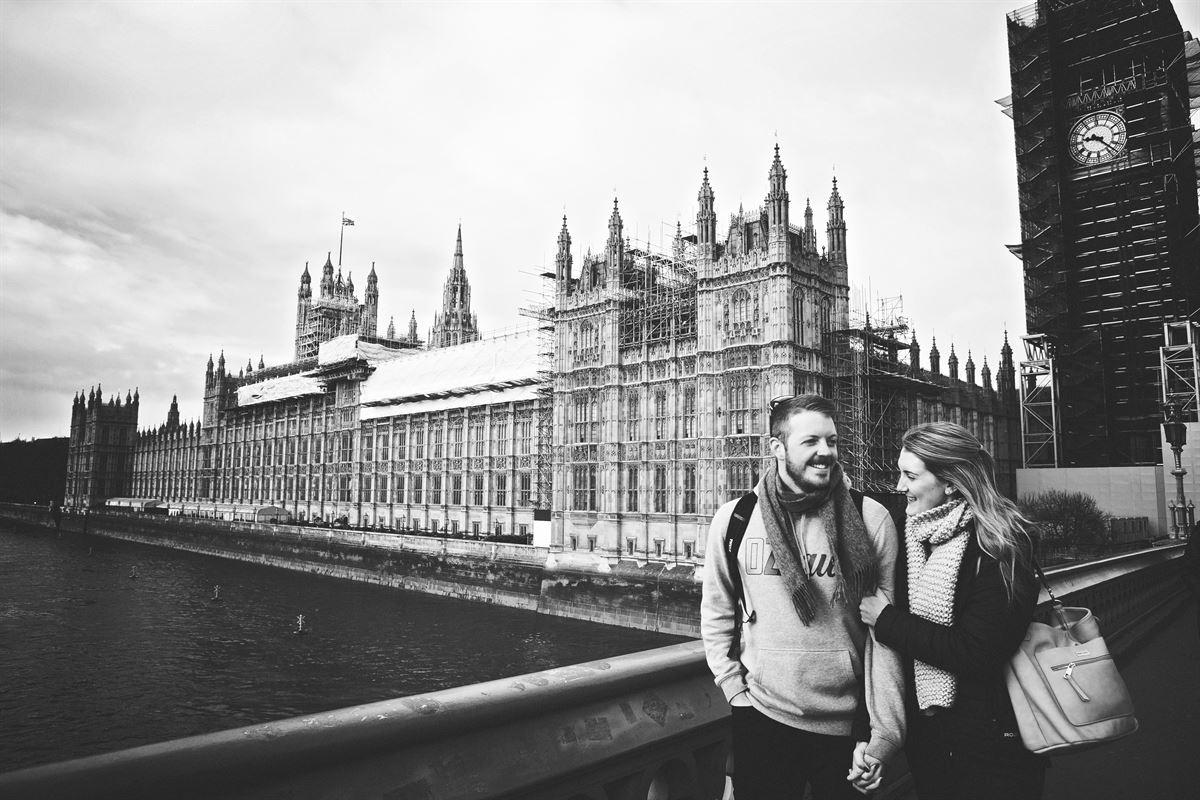 Honeymooning in London