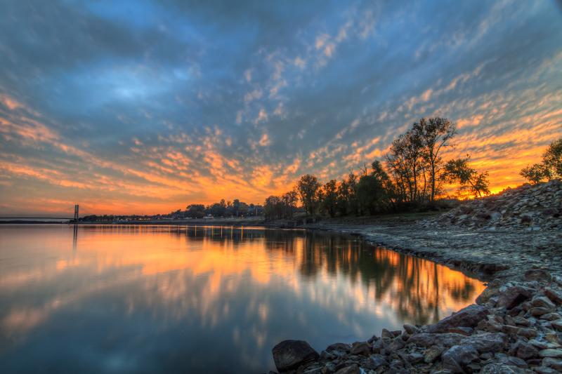 Mississippi River in Cape Girardeau Missouri