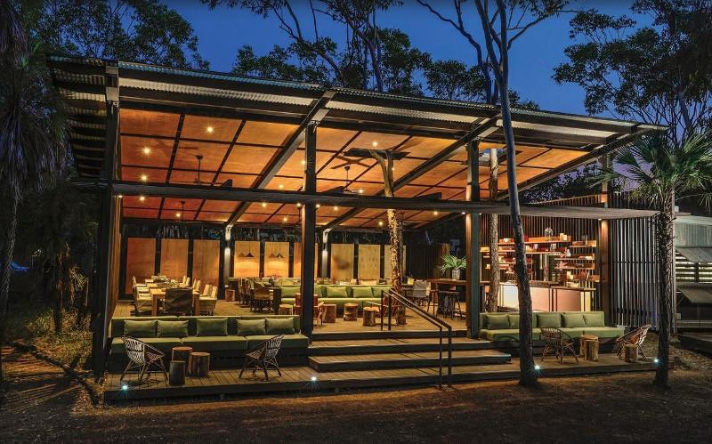 Luxury eco lodge in the Kimberley