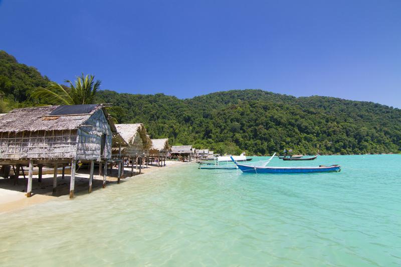 Moken Sea Gypsy Koh Surin