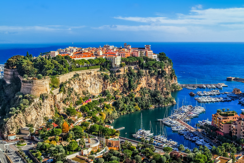 Stunning Monaco and the Prince's Palace, a short trip from Monte Carlo