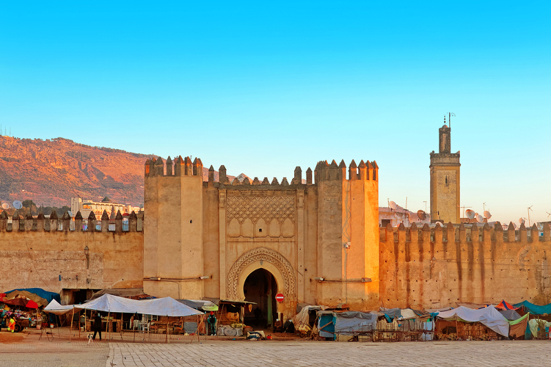 Morocco, westernmost country in the Arab world