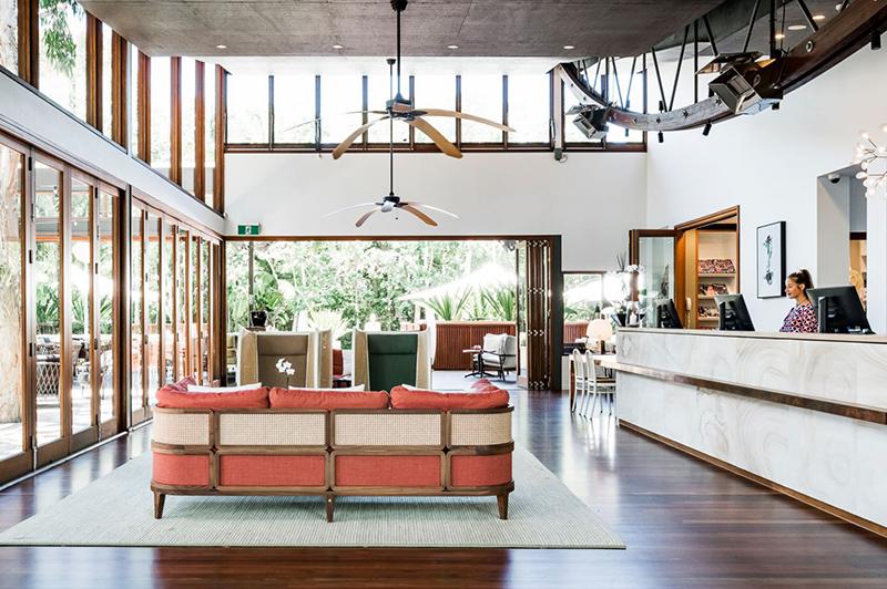 Lobby, Byron at Byron, a Crystalbrook Collection Resort | Credit: Byron at Byron