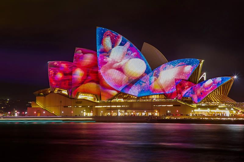 Vivid Sydney festival of light