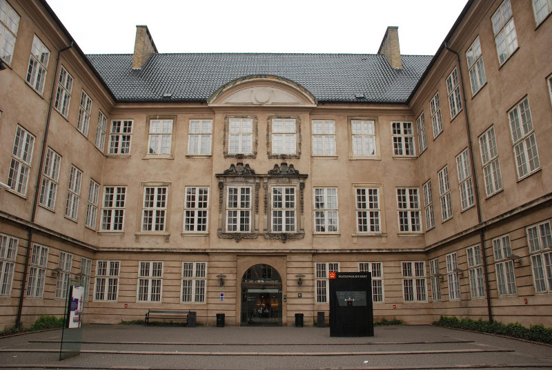 Nationalmuseet main entrance