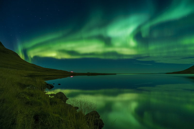 Northern lights Iceland