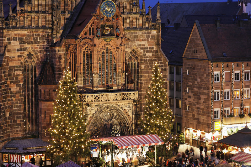 Nuremberg Christmas Market Germany