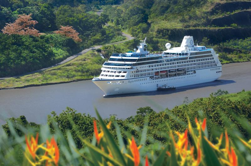 Oceania Cruises, Panama Canal
