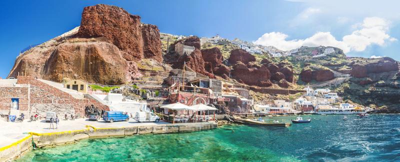 Oia Port Santorini