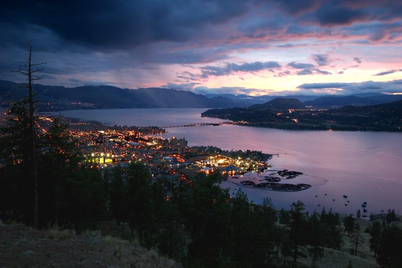 Okanagan Lake BC Canada
