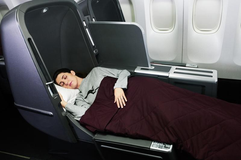 Qantas Dreamliner Business Class