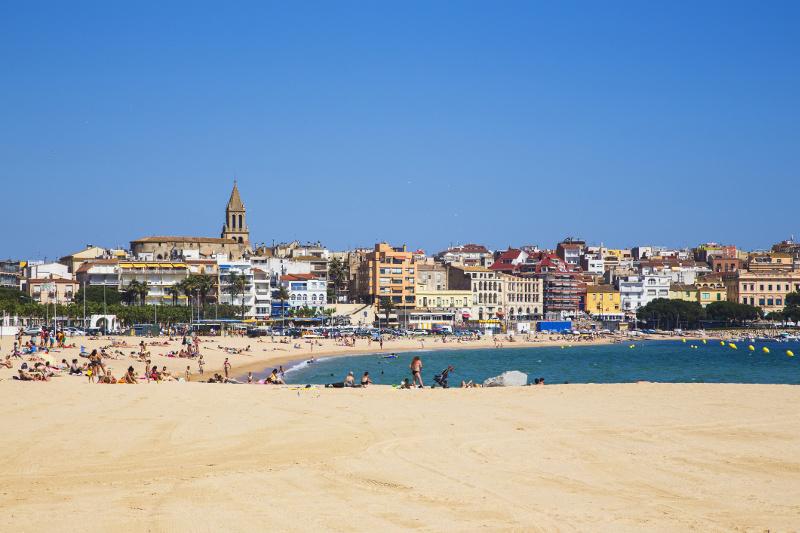 Palamos in Spain