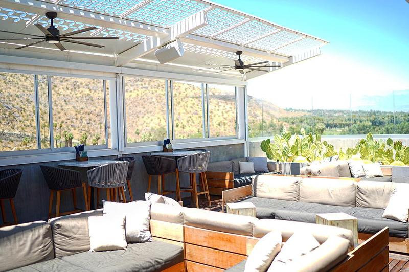 The Rowan, Palm Springs (image courtesy of Kimpton Rowan Palm Springs Hotel)