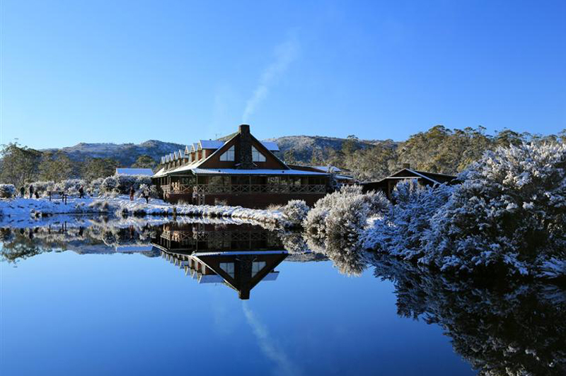 Peppers Cradle Mountain Lodge Lodge in Winter