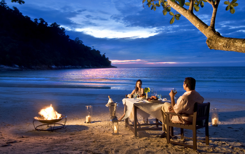 Private dinners at Emerald Bay, Pangkor Laut