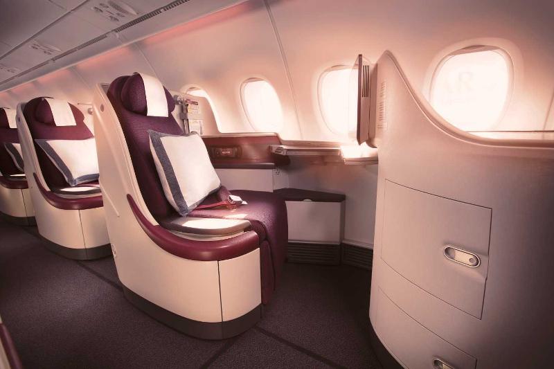 Qatar Airways Business Class window seat