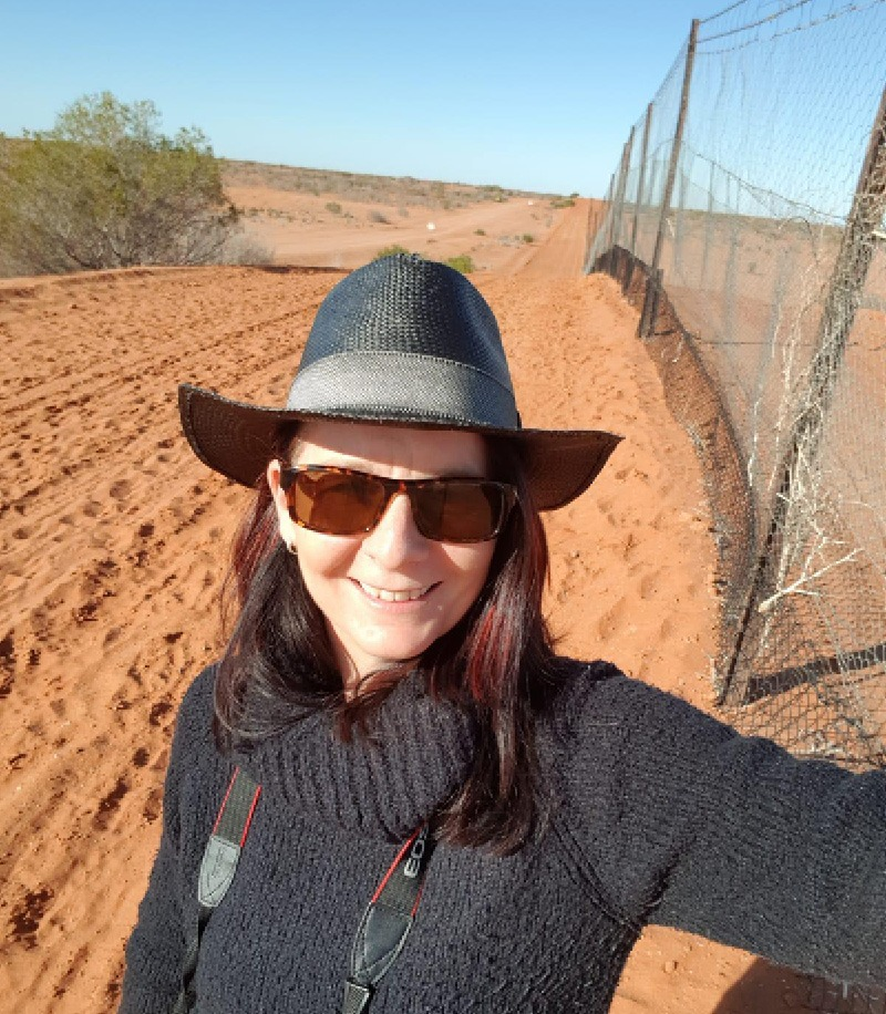 5000km long Dingo Fence up close