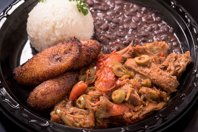 Ropa Vieja, a Cuban dish of stewed beef and vegetables