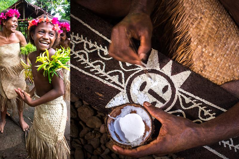 Lelepa, Vanuatu local community