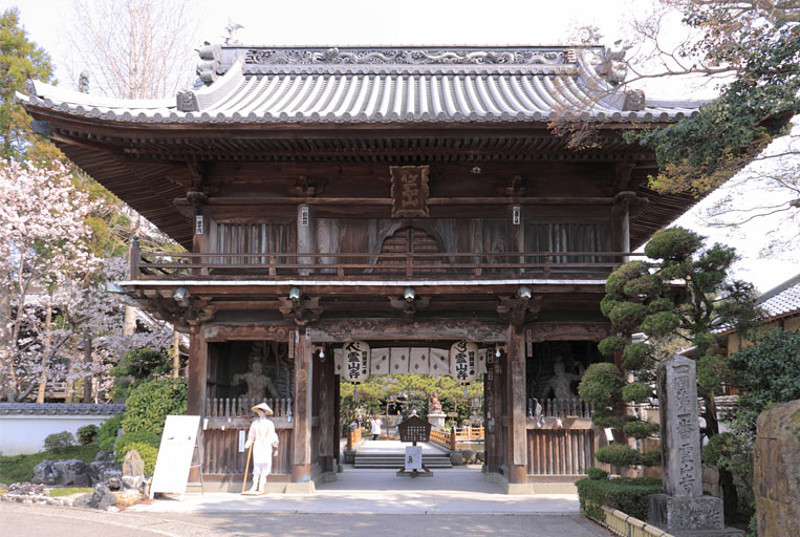 Japanese temple in Shikoku