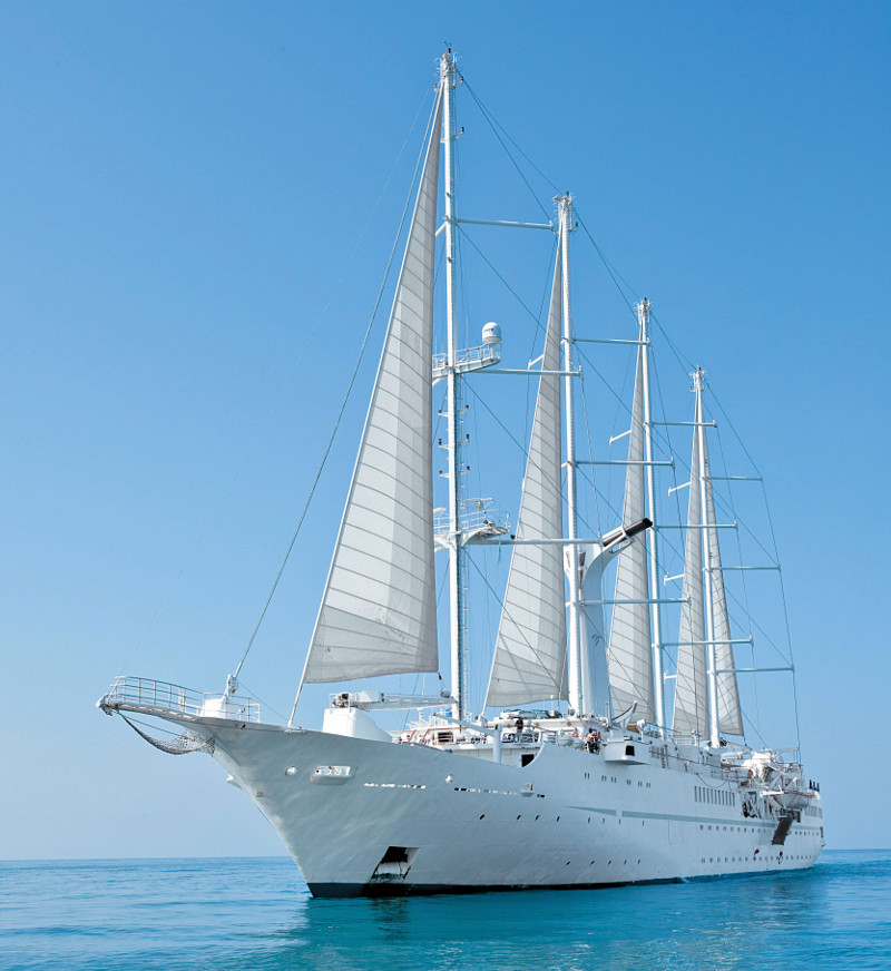 Wind Star yacht