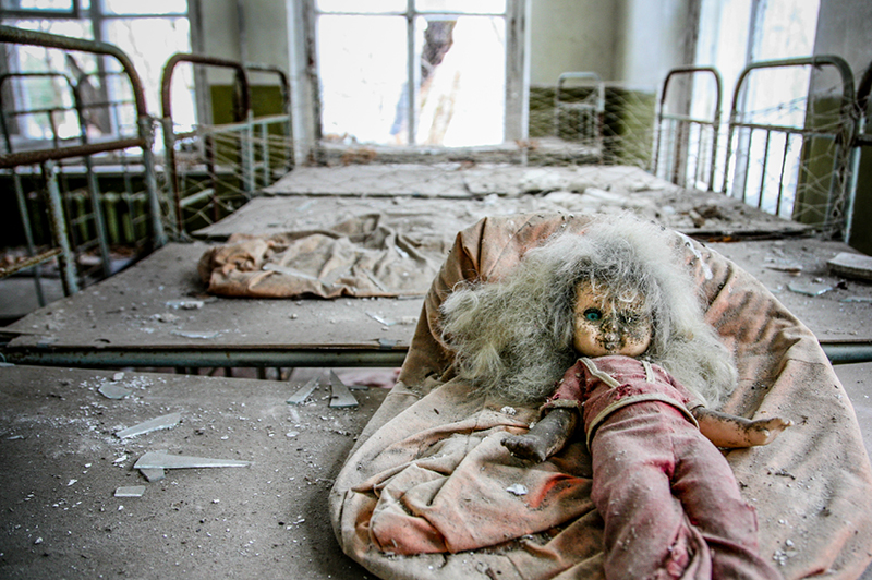 Abandoned School in Pripyat, Ukraine