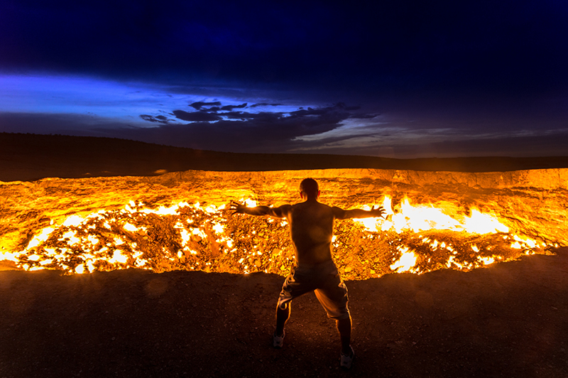 Gateway to hell, Turkmenistan