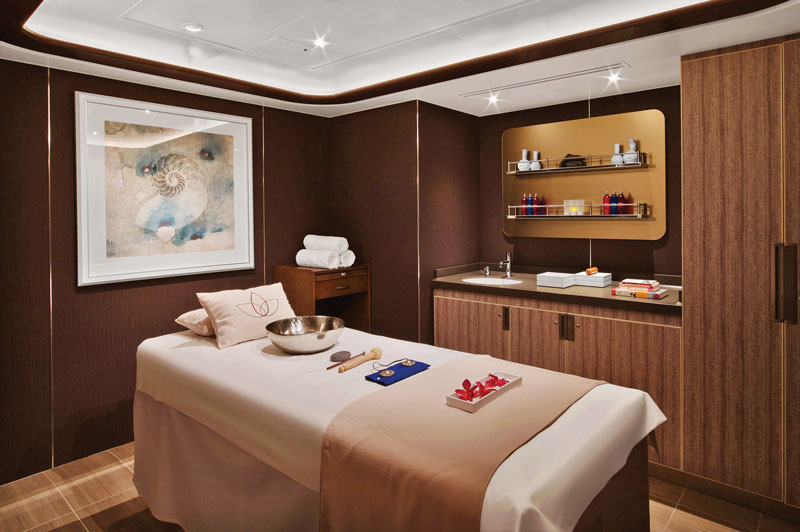 Spa on Seabourn Encore